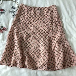 Pink Anne Taylor Skirt